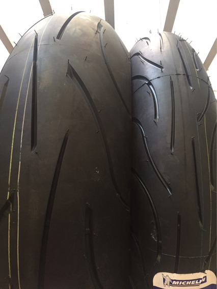 Combo Pneus Michelin Pilot Power 2ct 120/70-17 + 190/55-17