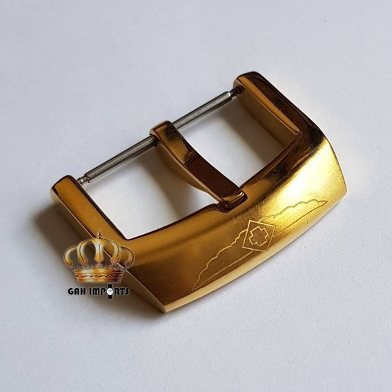 Fecho / Fivela Pulseira Relógio Invicta Noma 3 Dourado 26mm