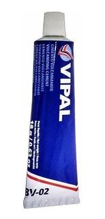 Cola/cimento Vulcanizante Para Remendos A Frio Vipal Bisnaga