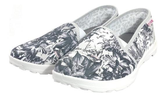 Zapatillas De Mujer Rave Tipo Panchitas En Moreno