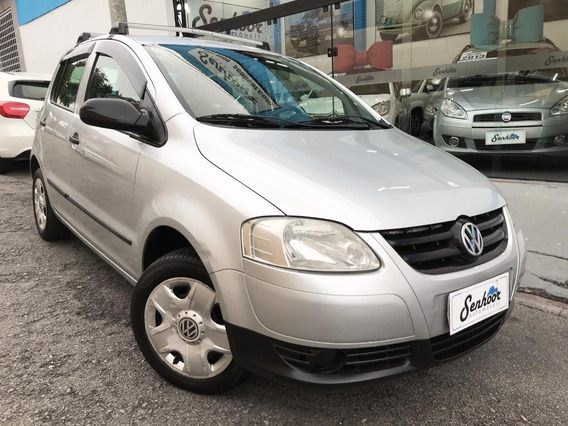 Volkswagen Fox Trend 1.0 Vht Prata - 2009