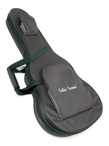 Imagem 1 de 4 de Capa Hard Bag Violão Clássico Solid Sound