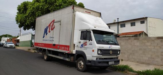 Caminhão Vw-9.160 Delivery 2012 Bau 6,20 X 2,40 Faccini