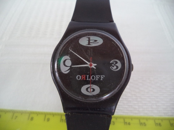 Relógio De Pulso Promocional Da Vodka Orloff - Antigo