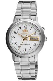 Relógio Orient Automático Masculino Branco 469wa1a B2sx