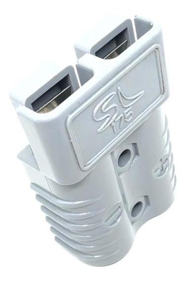 Conector Para Bateria De Empilhadeira Sb175 / Sl175 Cinza