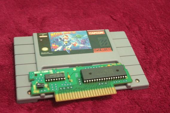 Megaman X Original Para Super Nintendo Snes Made In Mexico