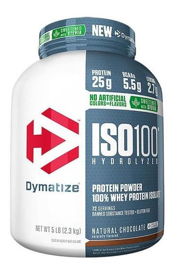 Iso 100 - 100% Hidrolyzed Stevia (4.99lb/2267g) Dymatize