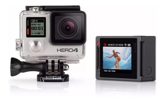 Câmera Filmadora Gopro Hero 4 Silver 4k Full Hd Original