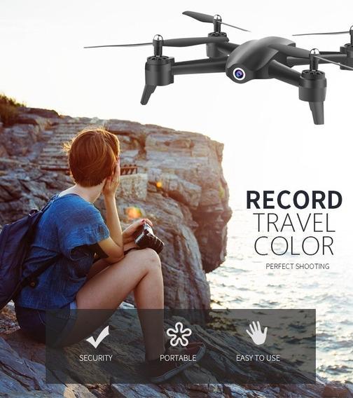 Drone S165 Hd 1080p - Função Siga-me E Gestos Envio Imediato