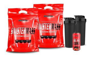 Combo 2x Sinister Mass 3kg + Coqueteleira - Integralmedica