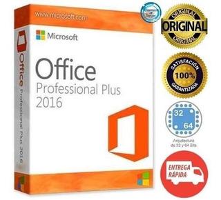 Licencia Office Profesional 2016 Pro Plus Entrega Rápida