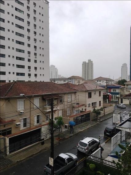 Apartamento Em Boqueirão, Santos/sp De 164m² 3 Quartos À Venda Por R$ 620.000,00 - Ap253294