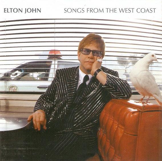 Cd Elton John - Songs From The West Coast - Novo Deslacrado*