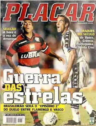 Revista Placar 1153/1999 - Romário/edmundo/renato