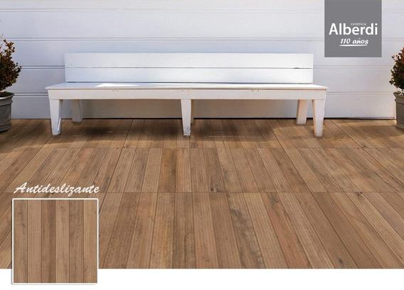 Porcelanato Deck Antideslizante 62x62 Alberdi 2da Seleccion