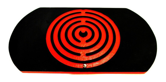 Prancha De Equilíbrio Labirinto Board / Treino Cor Laranja