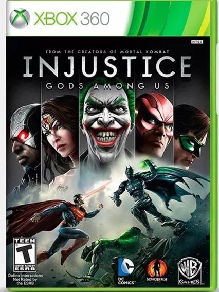 Injustice Gods Among Us-xbox 360-midia Digital