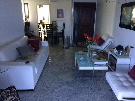 Excelente Apartamento Com 4 Quartos, Suíte, 129m², Varanda, 2 Vagas - Caminho Das Árvores - Ap1801
