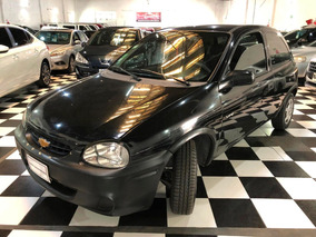 Chevrolet Corsa Classic 1.4 Financio Anticipo 2009 Negro