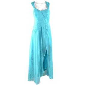 Vestido Azul Turqueza L Mrsp $2000