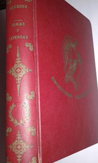 Libro Fisico, Rimas Y Leyendas. Gustavo Adolfo Becquer.