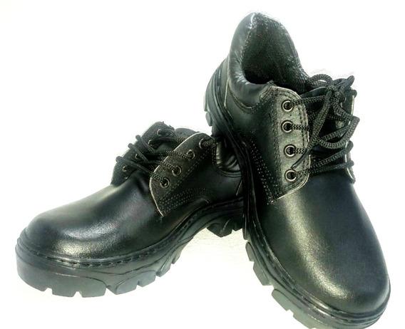 Zapato De Trabajo Art 120 Ne Talles Grandes Caucho Krapert