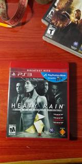 Heavy Rain Ps3 Playstation 3 Videojuego Disco Fìsico