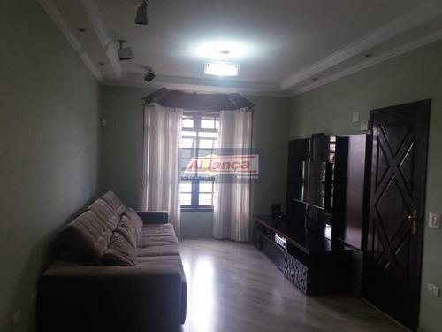 Sobrado Com 3 Dormitórios À Venda, 246 M² Por R$ 900.000 - Parque Renato Maia - Guarulhos/sp - Ai11705