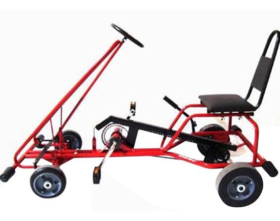 Pedal Kart Quadriciclo Infantil Al-35 Altmayer Vermelho