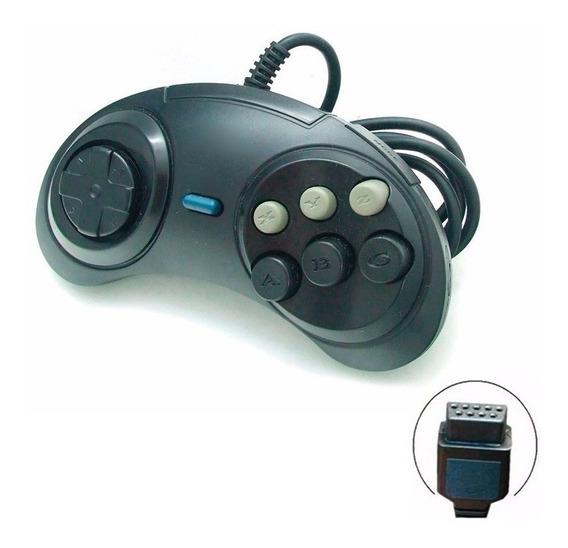 Controle Joystick Manete Pra Sega Mega Drive Master System