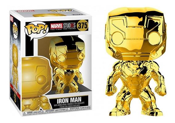 Figura Funko Pop Marvel Ms 10 - Iron Man 375