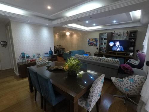 Imagem 1 de 30 de Apartamento Com 3 Suites, Escritório Dormitórios À Venda, 185 M² Por R$ 1.250.000 - Tatuapé - São Paulo/sp - Ap3182