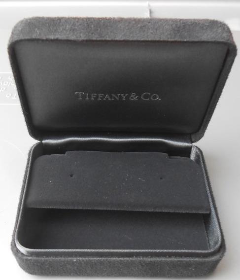 Estuche Chico Original De Joyeria Para Aretes Tiffany & Co