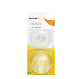 Pezoneras De Silicona Contact Nipple - Talle S. Medela