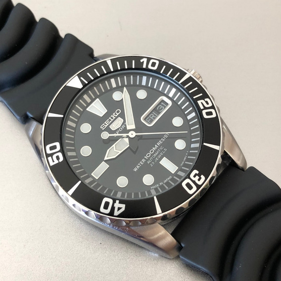 Relógio Seiko Snzf17j2 Made In Japan Sea Urchin Automático