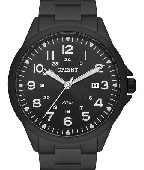 Relógio Orient Masculino Preto Aço Mpss1028 P2px