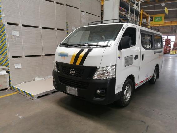 Nissan Urvan Van Panel Pasajeros Urvan 2015