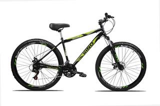Bicicleta Aro 29 Rino 21 Velocidades Freio A Disco
