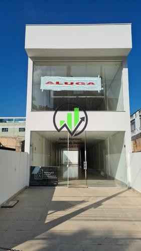 Imagem 1 de 15 de Loja Para Alugar Na Av. Ana Costa, 236 M² - Santos - 167