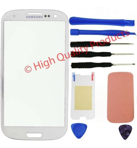 Samsung Galaxy S3 (cristal Frontal Blanco)