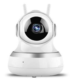 Camera Ip 2 Antenas Wireless Alta Resolução Segurança Loja