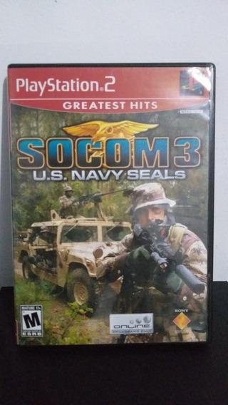 Socom 3 Us Navy Seals Jogo Original Sem Manual Promoção