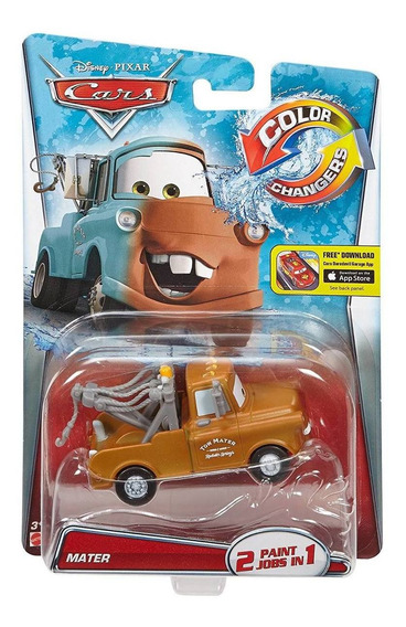 Disney Cars Mater Color Changers Muda De Cor Mattel