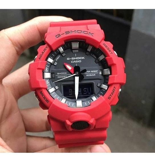 Relógio Casio G-shock Ga800 Vermelho
