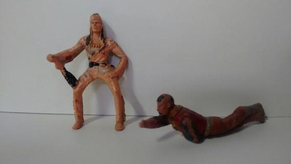 Bonecos Do Forte Apache Antigo Não Sei A Marca