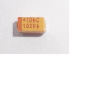 sourcing map 10uf condensador de tantalio 16v 2 pin radial condensado condensadores de cuentas de tantalio 10 unids
