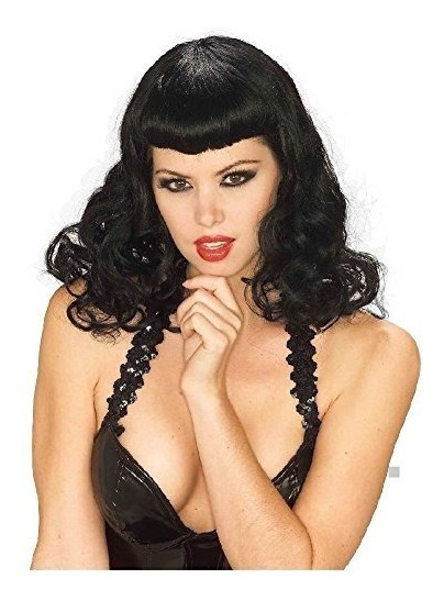 Pin-up Girl Wig Adulto Mujer Bettie Paige 50s Traje De Hall