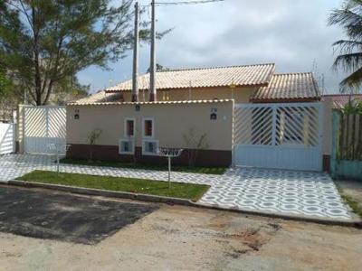 Linda Casa No Bairro Raul Cury, Em Itanhaém 900 Mts Do Mar