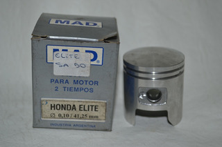 Honda Elite Tact 50 Piston Mad 0.10 = 41,25 Mm Allsales